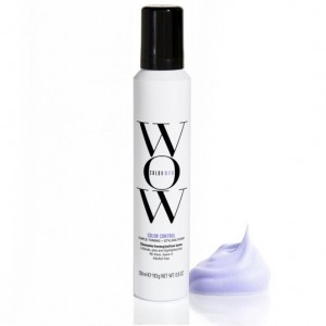 Color WOW Color Control Toning & Styling Foam for Blonde Hair 6.8oz